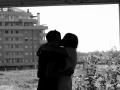 Nicoletta Sorrentino - Ultimi baci prima della partenza, in un edificio abbandonato