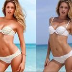 Modelle ritoccate con Photoshop: ecco come il Photo Editing può far sembrare bello davvero chiunque!