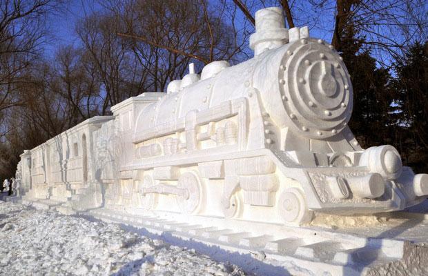 Treno di neve