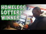 Un senzatetto riceve 1000 dollari