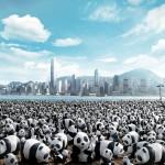 I panda invadono le città del mondo: ma si tratta di panda finti…scoprite cosa c'è dietro!