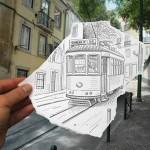 Disegni a matita sovrapposti a fotografie: lo fa l'artista Ben Heine, ottenendo risultati mai visti…