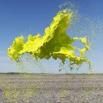 Bombe di colore sospese in aria: quando arte e fotografia si uniscono